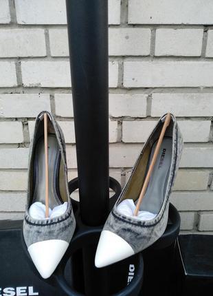 Туфли итальянского бренда diesel d slanty hpd европа италия оригинал