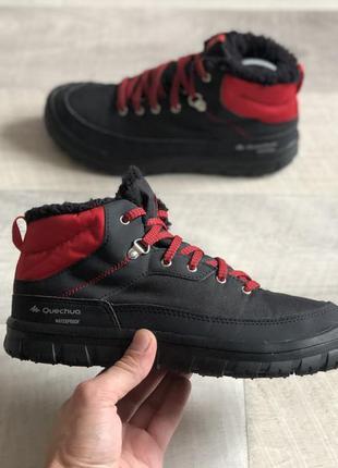 Quechua waterproof зимові черевики ботінки оригінал