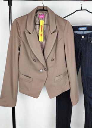 Стильный красивый пиджак жакет блейзер together этикетка