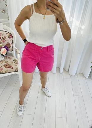Polo ralph lauren розовые хлопковые шорты чиносы