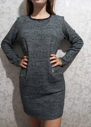 Трикотажная туника платье