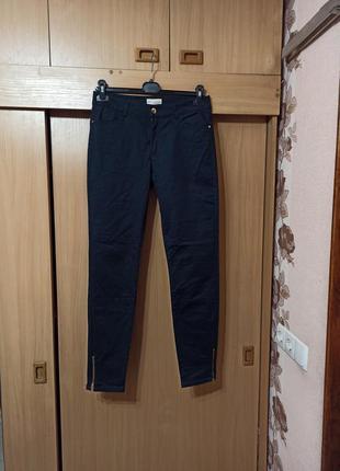 Коттоновые брюки джинсы 48