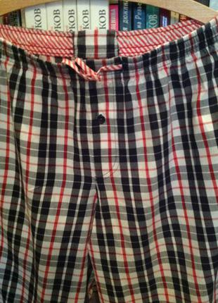 Домашние, пижамные турецкие брюки, р. 48-50