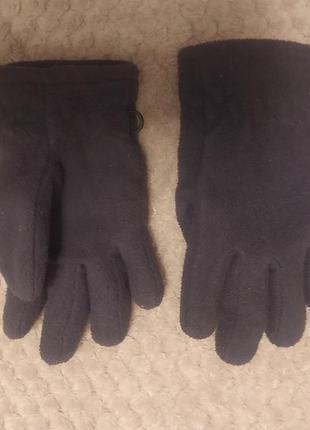Флісові рукавиці на 3-4 роки