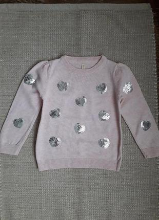 🌿 свитер джемпер для девочки