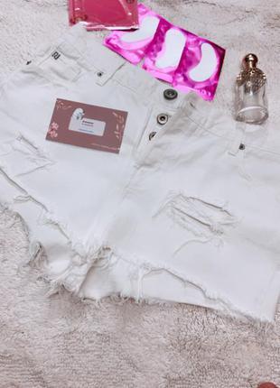 Белоснежные шорты