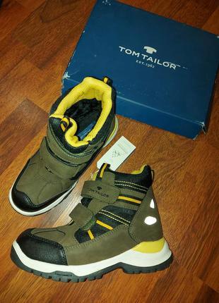 Зимние ботинки tom tailor 33-21-21.5cm