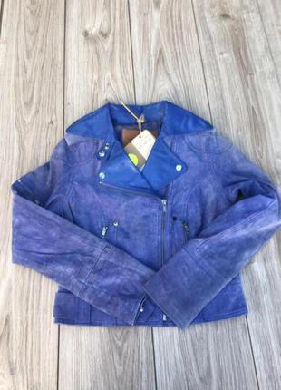 Куртка косуха кожаная goosecraft