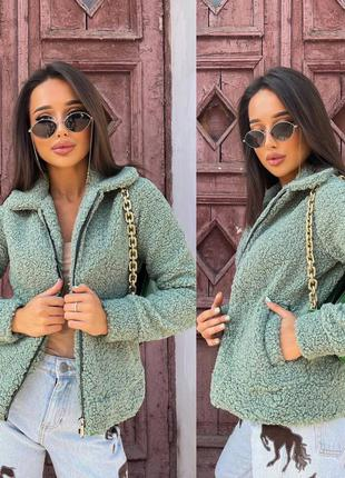 Женская меховая курточка