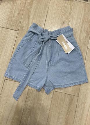 Новые джинсовые шорты sinsay, 34/xs размер