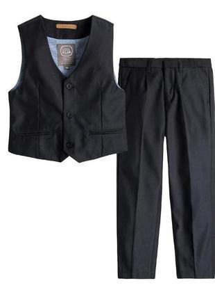 Костюм для мальчика cool club брюки жилетка