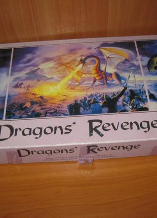 """Пазлы """"jigsaw"""" 1000 шт.+ 2 по 500 шт. """" dragons revenge """""""
