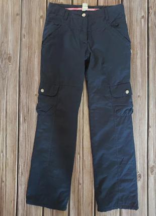Брюки штаны теплые флис для девочки kanz