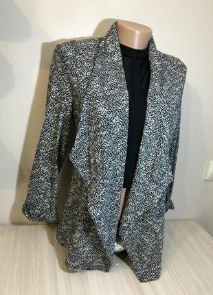 Пиджак прямой удлинённый піджак жіночий new look s