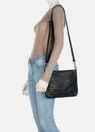 Кожаная сумка кроссбоди fredsbruder / шкіряна сумка