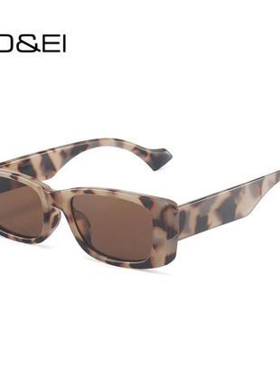 Очки леопардовые леопард