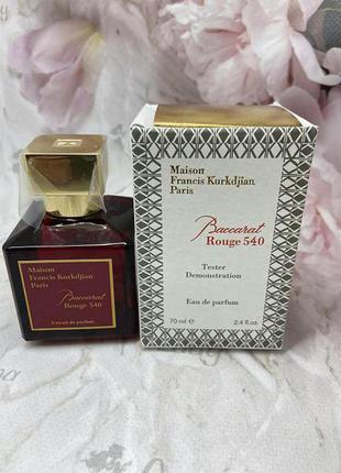 Парфюм - экстракт (тестер) baccarat rouge 540 extrait de parfum, 70 ml