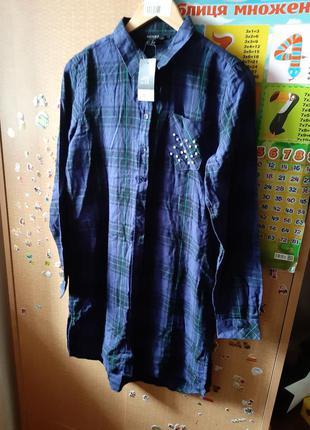 Фланеливая рубашка, туника.esmara