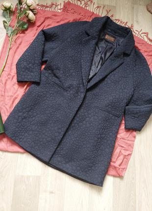 Удлинённый пиджачок-жакет р 46-48