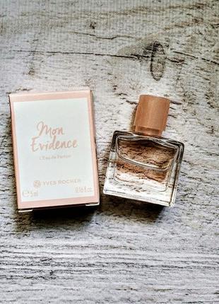 🌷міні жіноча парфумована вода mon evidence yves rocher ив роше yves rocher