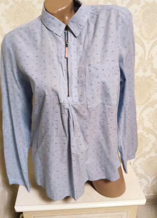 Стильная натуральная рубашка