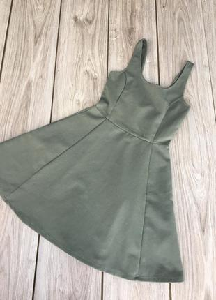 Стильное актуальное платье h&m zara asos тренд мини миди тренд короткое