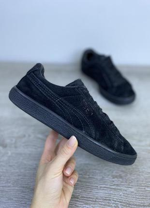 Базовые классические кроссовки! натуральная замша.   puma suede