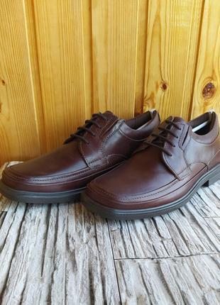 Туфли, кожаные