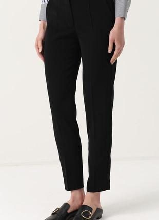 Обнова! брюки классика зауженные укороченные стрелы высокая талия