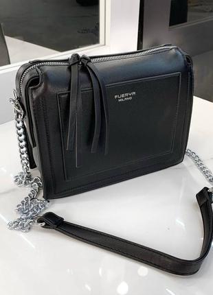 Удобная модная сумка экокожа
