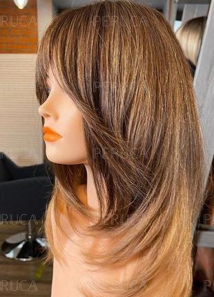 4️⃣5️⃣см матовый парик цена-качество перука натуральный оттенок окрашивание премиум