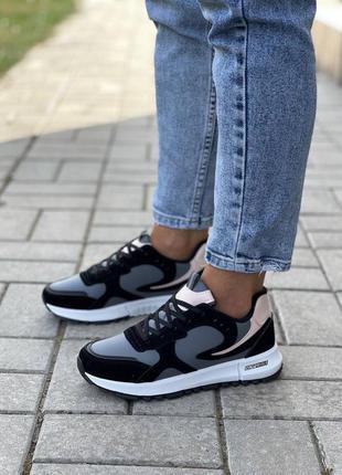 Женские кроссовки с утеплением