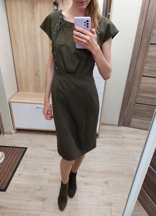 Платье хакки классика
