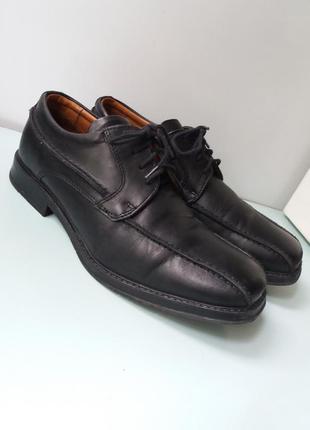Туфли натуральная кожа, на шнурках