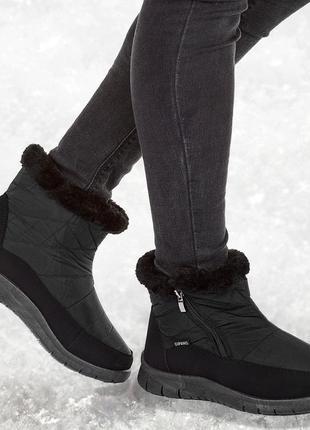 Ботинки мех