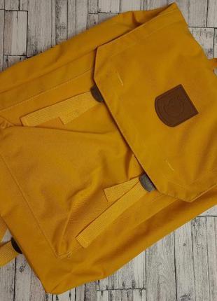 Рюкзак fjallraven foldsack no 1 yellow, желтый, спортивный, городской, туристический, портфель, для ноутбука, спортивний, туристичний, канкен, kanken