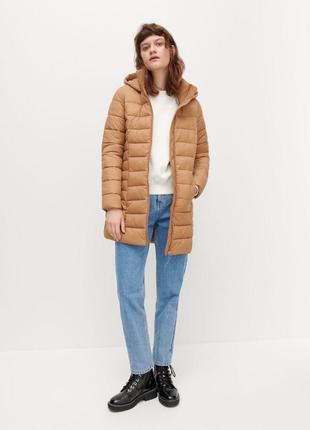 Удлененная стёганая куртка reserved