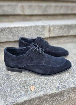 Мужские элитные туфли, натуральная замша, опт, розница
