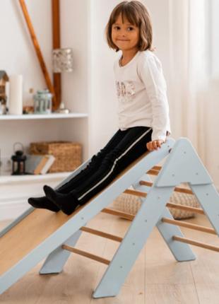 Дитячий комплекс трикутник піклер – компактний, універсальний спортивно-розвивальний куточок