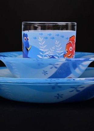 Яркий, качественный набор посуды детский
