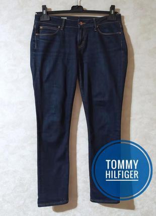 Синие джинсы скинни tommy hilfiger, 28-29 р