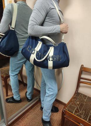 Converse оригинал спортивная сумка для спортзала синяя