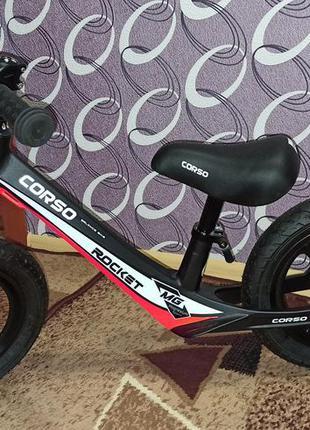 Беговел, велосипед без колес)