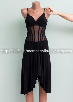 Огромный выбор платьев - очень красивое платье в бельевом стиле со  вставками из сетки 123d581b421