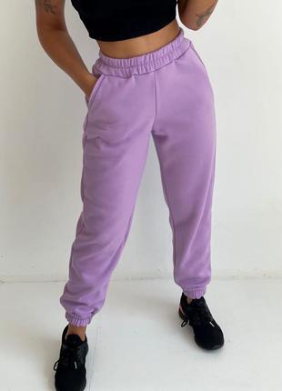 Спортивные штаны на флисе 👍тренд сезона👍