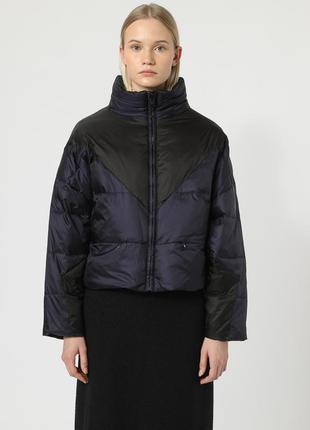 Новый пуховик bimba y lola двухсторонний оверсайз пуффер куртка на пуху дутик оригинал