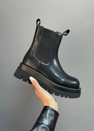 Женские зимние ботинки bottega veneta
