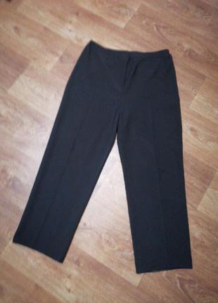 Женские брюки штаны классические чёрные