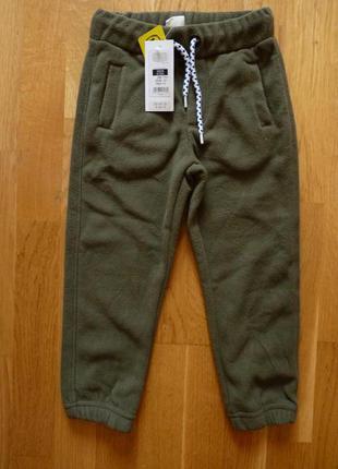 Флисовые штаны, джоггеры для мальчика cool club by smyk, размер 104