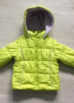 Куртка для девочки osh kosh размер 3t